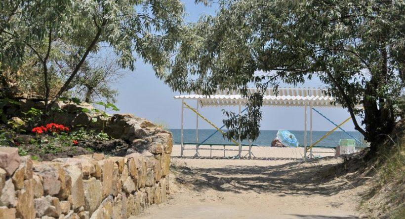 Нефтехимик Украины - выход на пляж