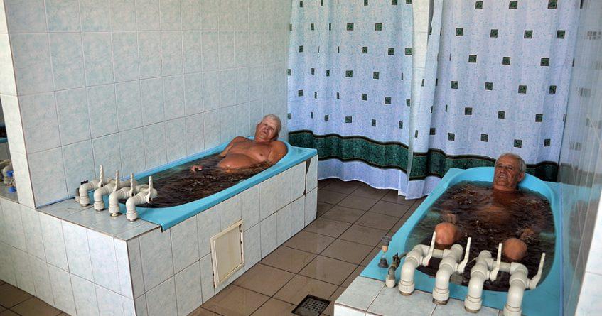 санаторий Нефтехимик Укрианы- лечебница