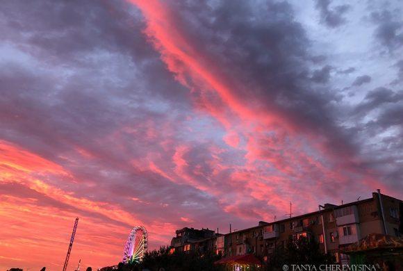 Невероятные закаты в Бердянске