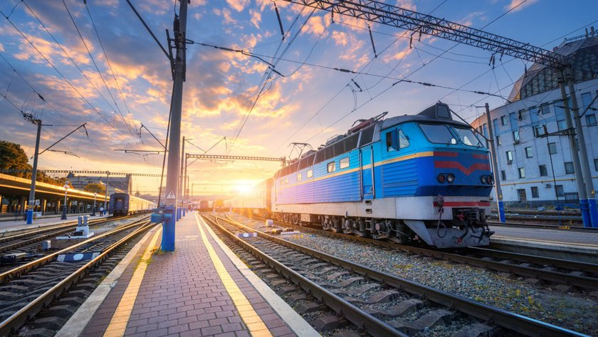 Поезд из Киев и Харькова в Бердянск