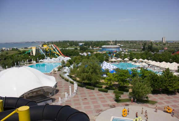 Бердянський аквапарк відкрив сезон