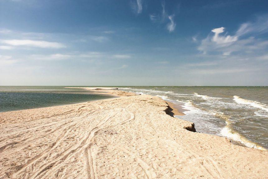 Центральный пляж Бердянска